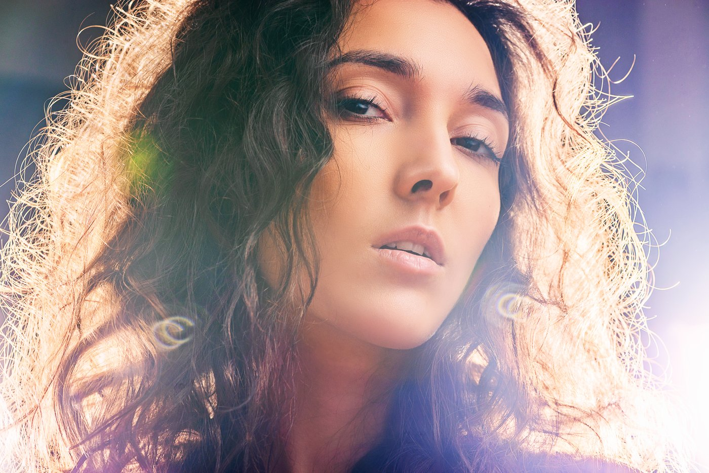 фото, арт, свет, цвет, девушка, глаза, блики, Павел Соколов