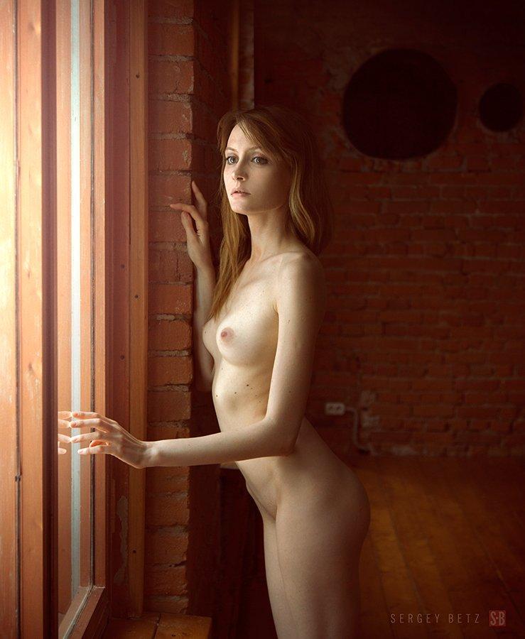 Nude, Window, Девушка, Ню, Окно, Сергей Betz