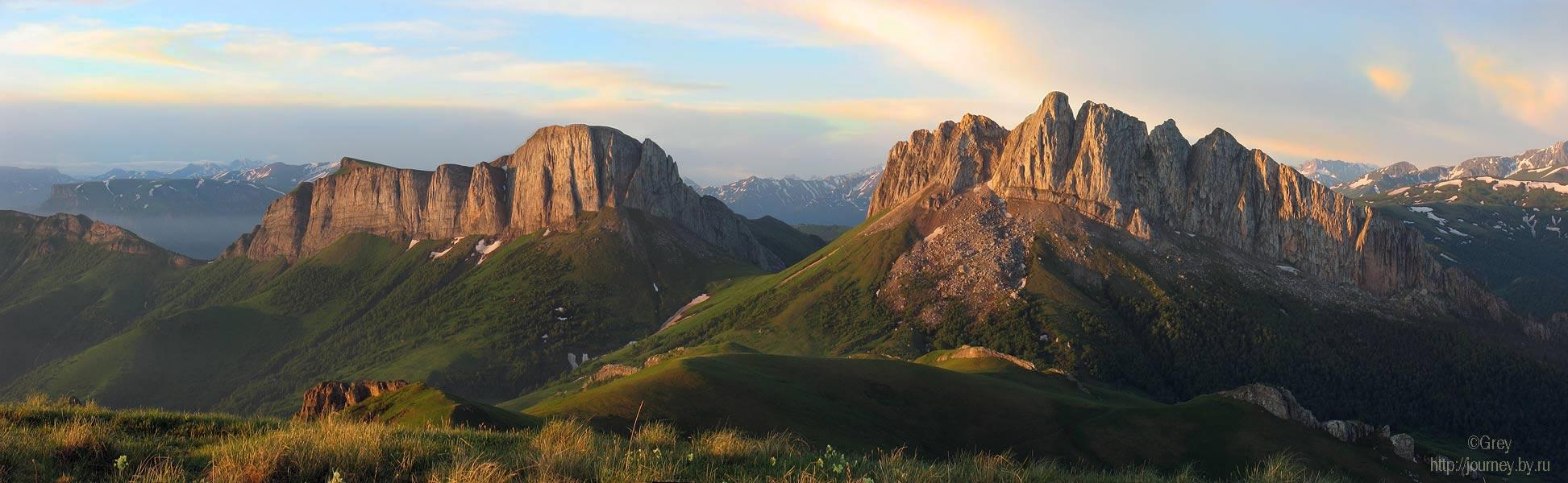 горы,кавказ,скалы,туризм, Grey