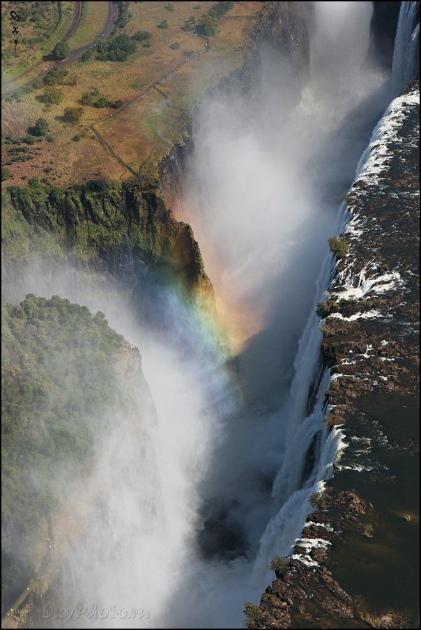 victoria falls, водопад виктория, замбези, зимбабве, замбия, zimbabwe, zambia, zambezi, африка, africa, rainbow, радуга, Оксана Борц