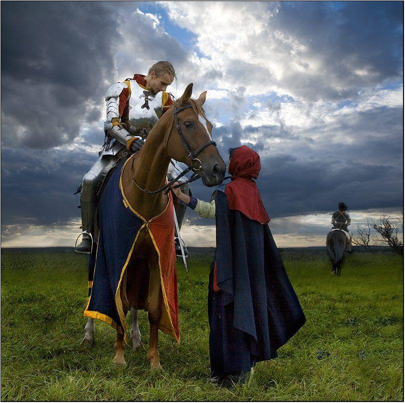куликово, поле, куликовская, битва, рыцарь, ратник, оруженосец, проводы, Boris Bort