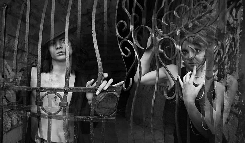 девушка, парень, в, плену, иллюзий, Olga Panteleeva