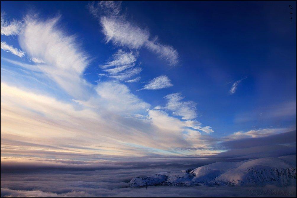 khibiny, mountain, russia, ski, горные лыжи, горы, кировск, россия, хибины, Оксана Борц