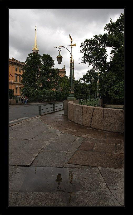 петербург, инженерный, мойка, лето, фонарь, Kirill Shapovalov
