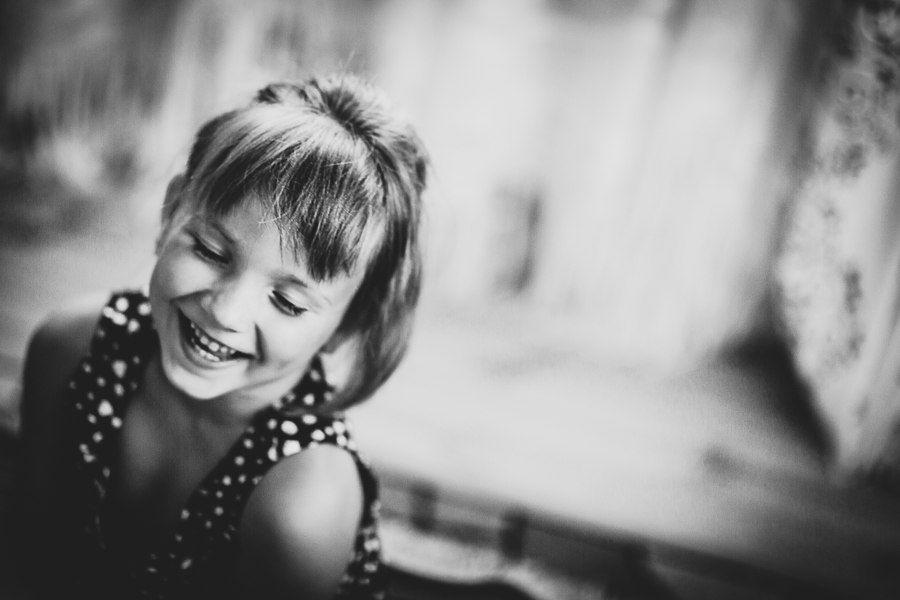 детский портрет: девочка: улыбка:, Анастасия Кохан