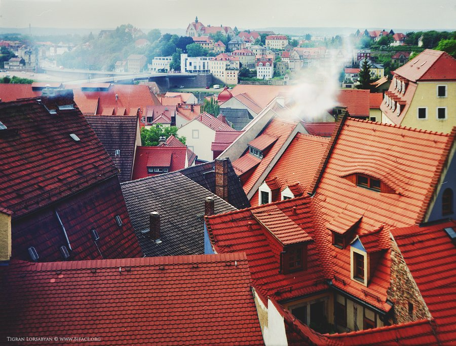 landscape, meissen, red, roof, Тигран Лорсабян