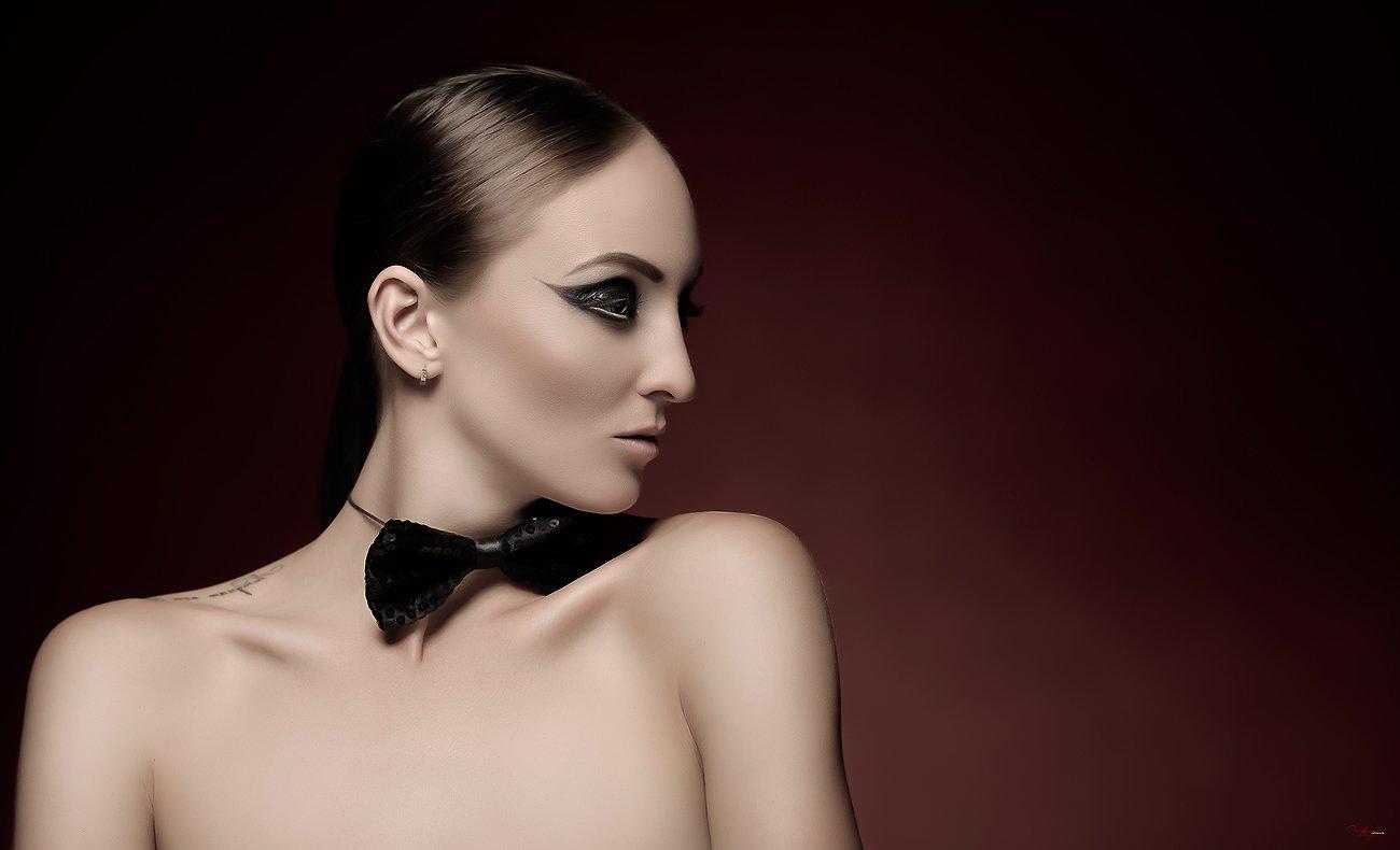 Beauty, Fashion, Glamour, Model, People, Portrait, Studio, Баженов Денис
