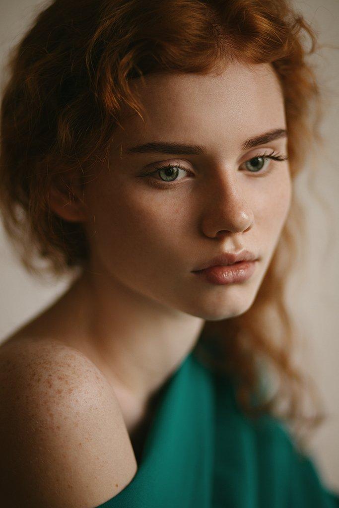 art, beauty, eyes, ginger, girl, green, photo, photography, portrait, redhead, девушка, портрет, рыжая, фото, Елена Daedra Алферова