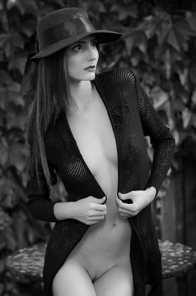 Black and white, Erotica, Female, Model, Naked, Nude, Sensuality, Woman, Lajos Csáki