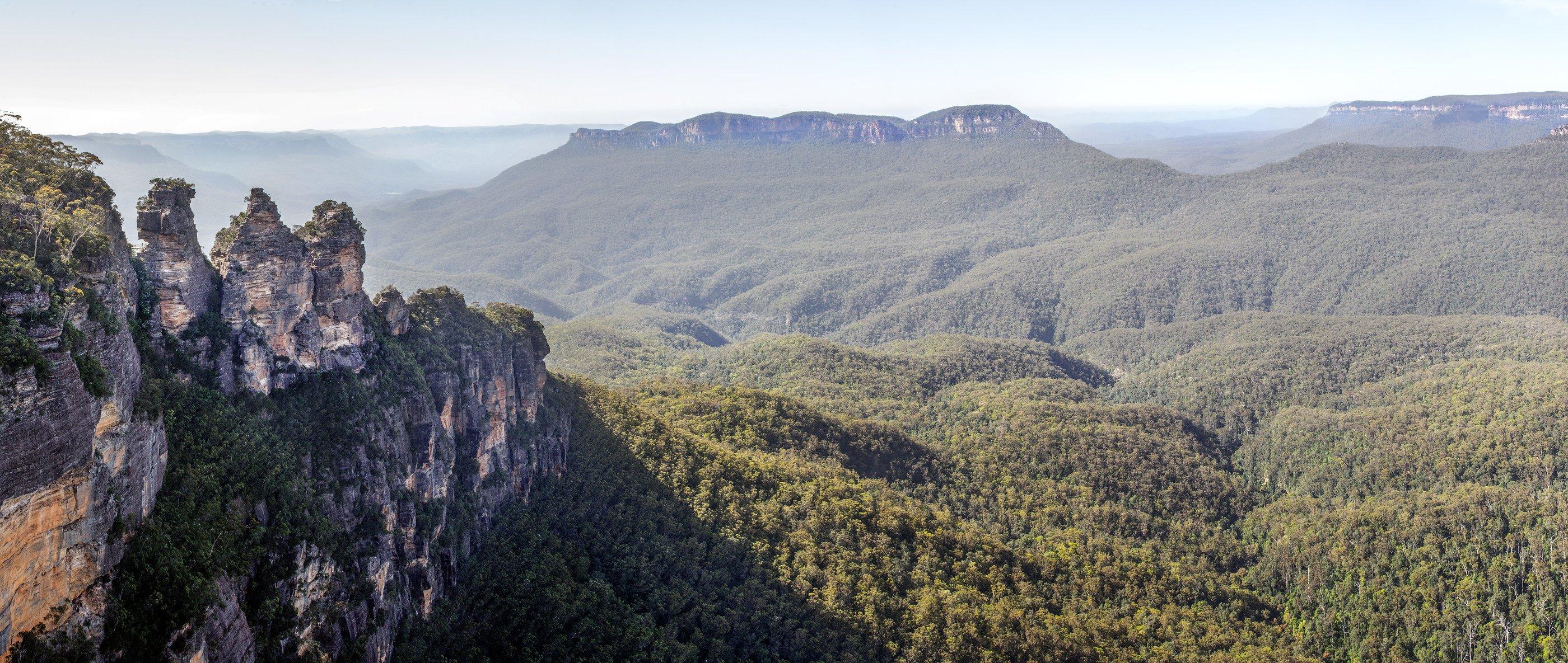 NSW, Австралия, Горы, Лес, Пейзаж, Природа, Горлов Дмитрий