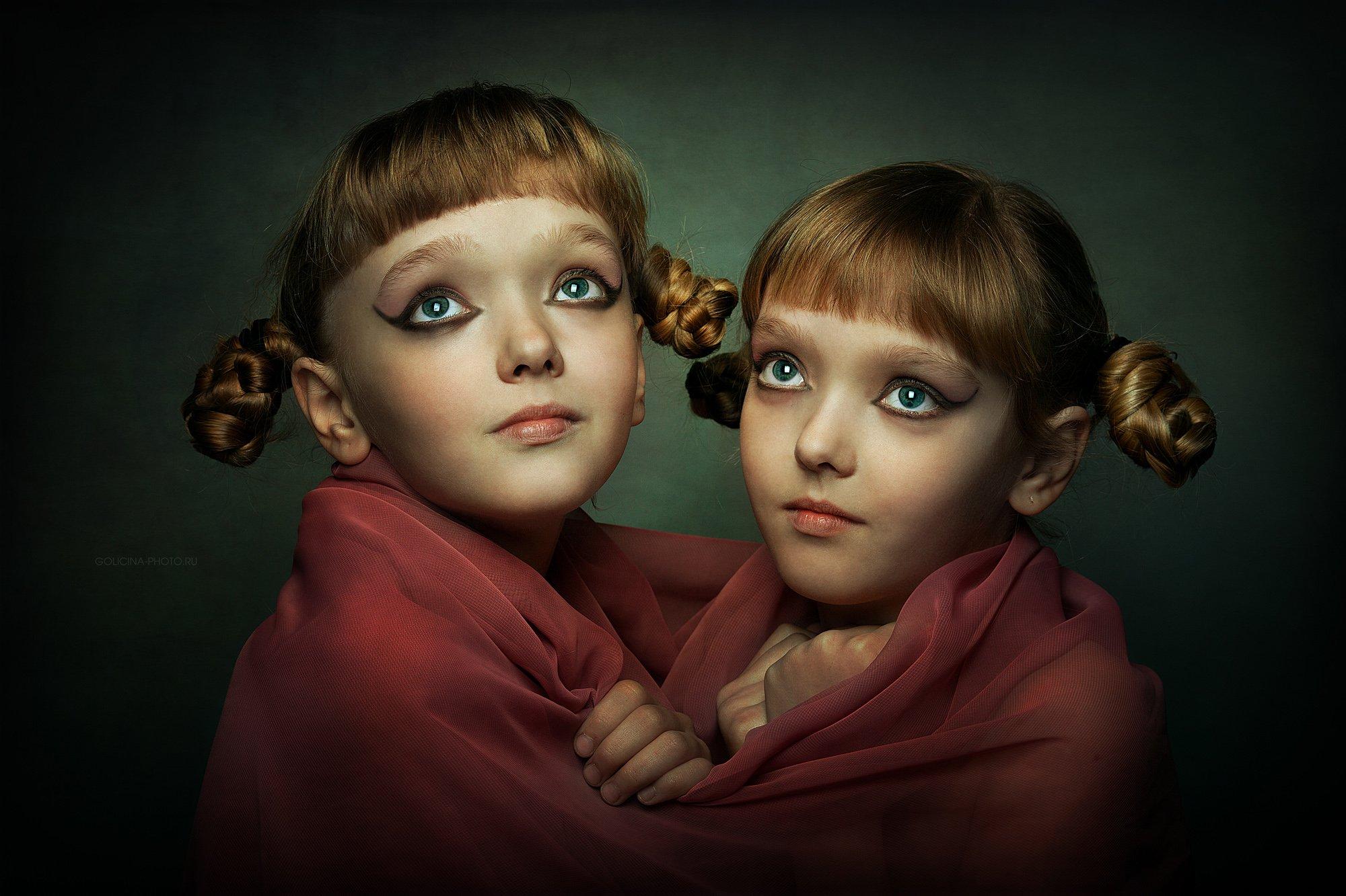 Девочки, Портрет, Svetlana Golicyna