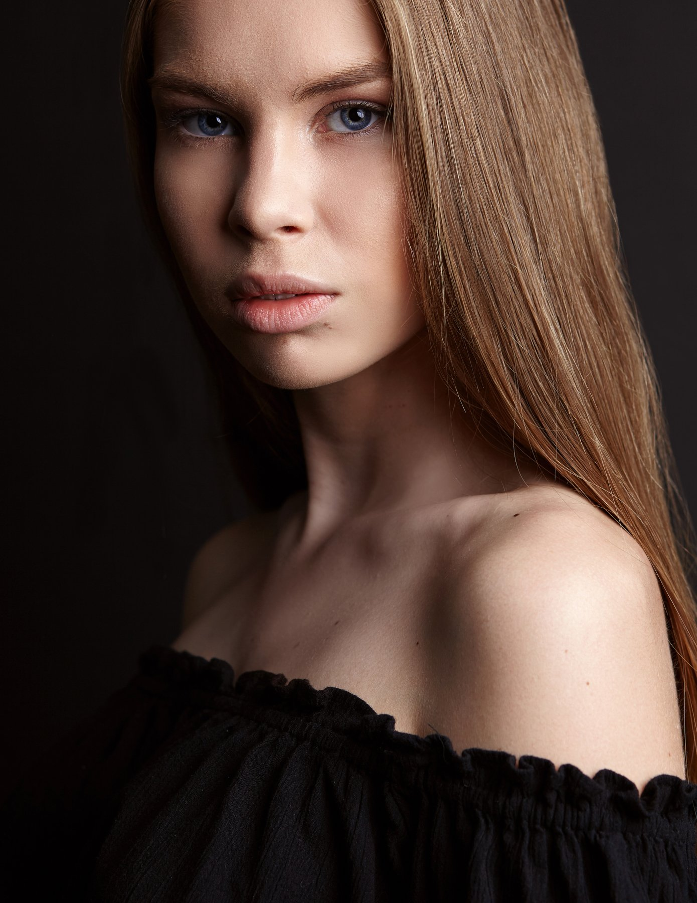 Beautiful, Girl, Lips, People, portrait, Studio, портрет, Адиль Исаев