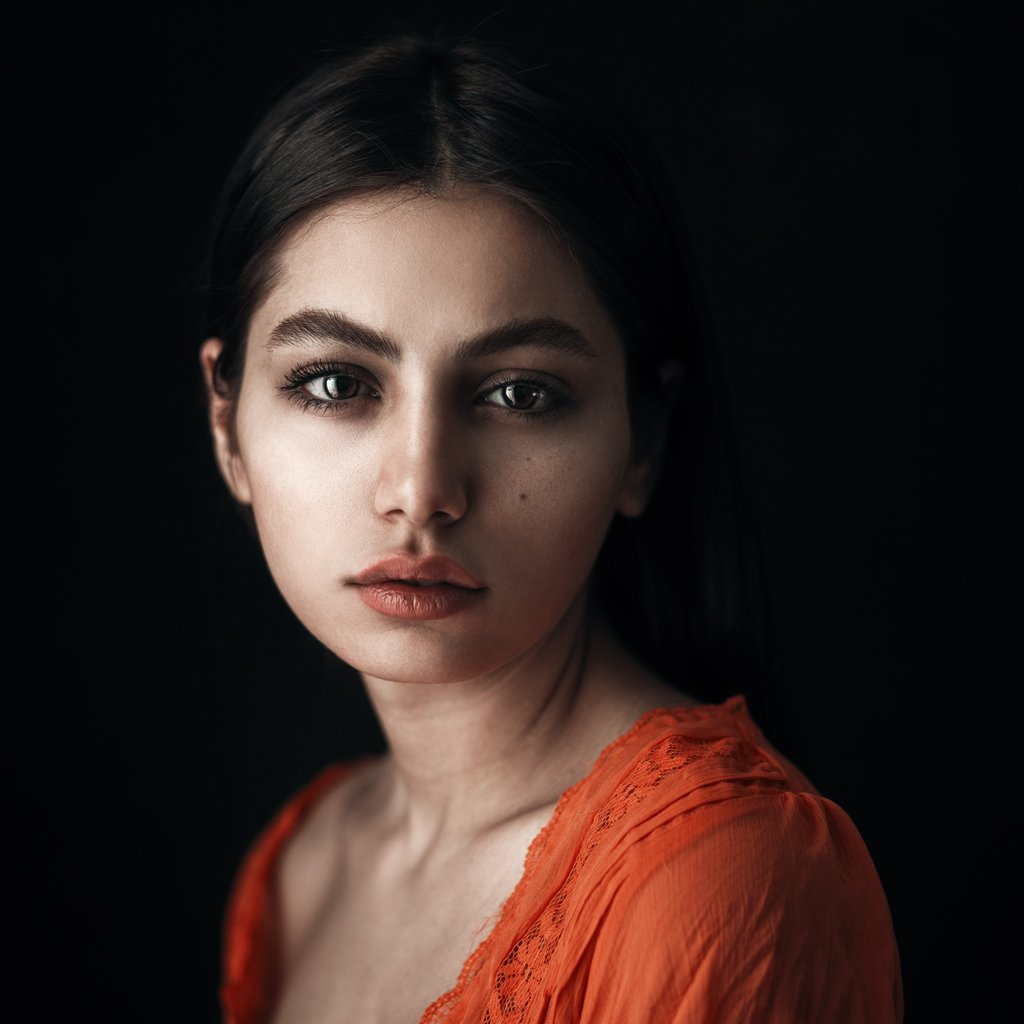 Eyes, Girl, Look, Portrait, Babak Fatholahi