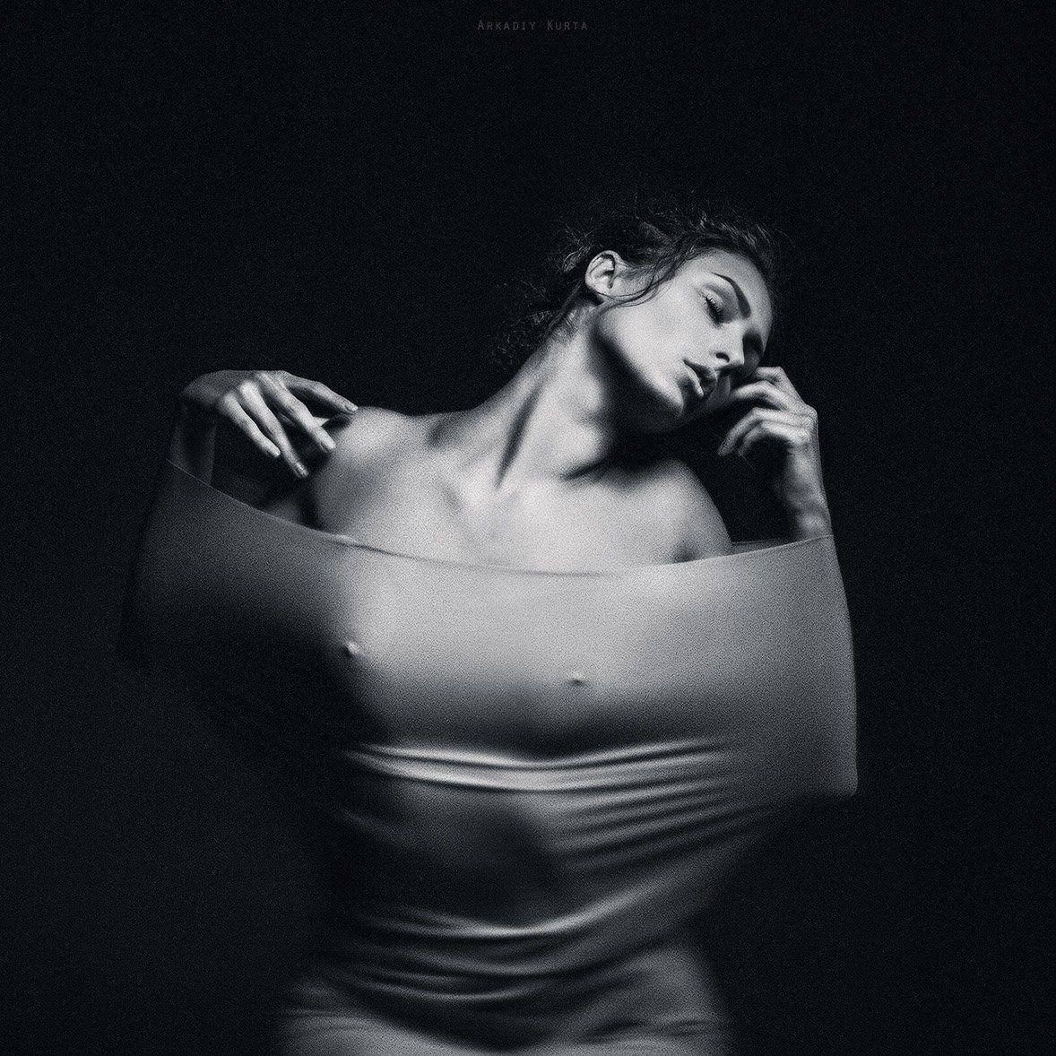 Arkadiy kurta, Art photo, Artistic, Beauty, Body, Look, Nude art, Модель, Портрет девушки, Светографика, Студия, Аркадий Курта