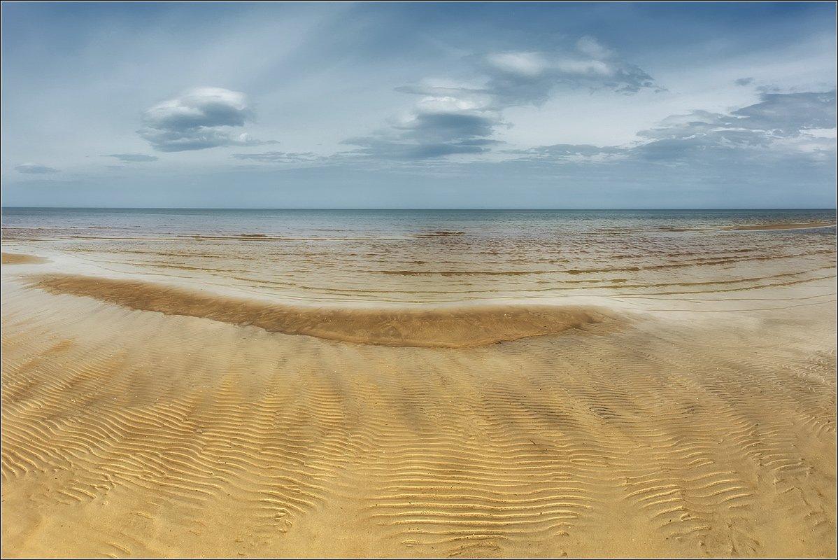 sea, noon, sand, texture, Daiva