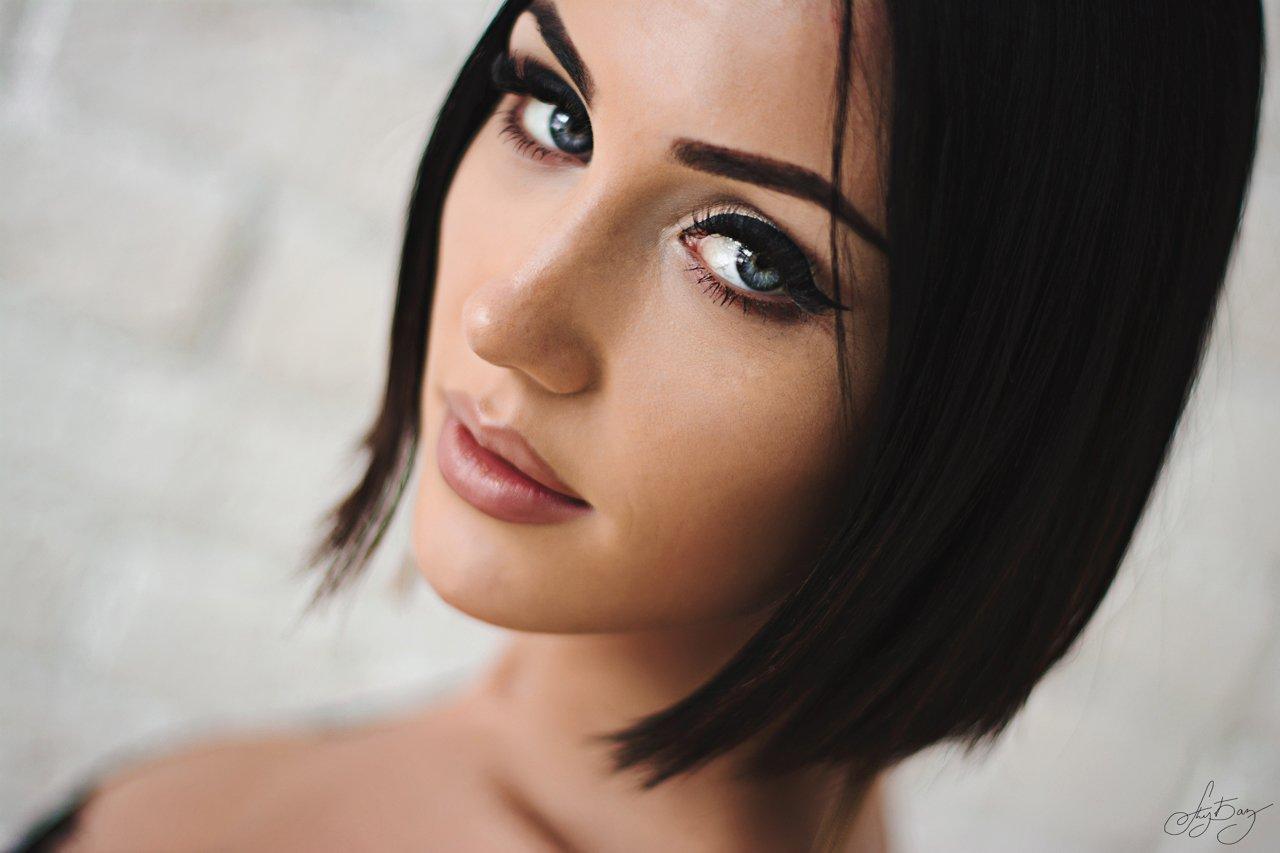 girl, beauty, beautiful, blue eyes, pretty face, photo, Базенко Александр