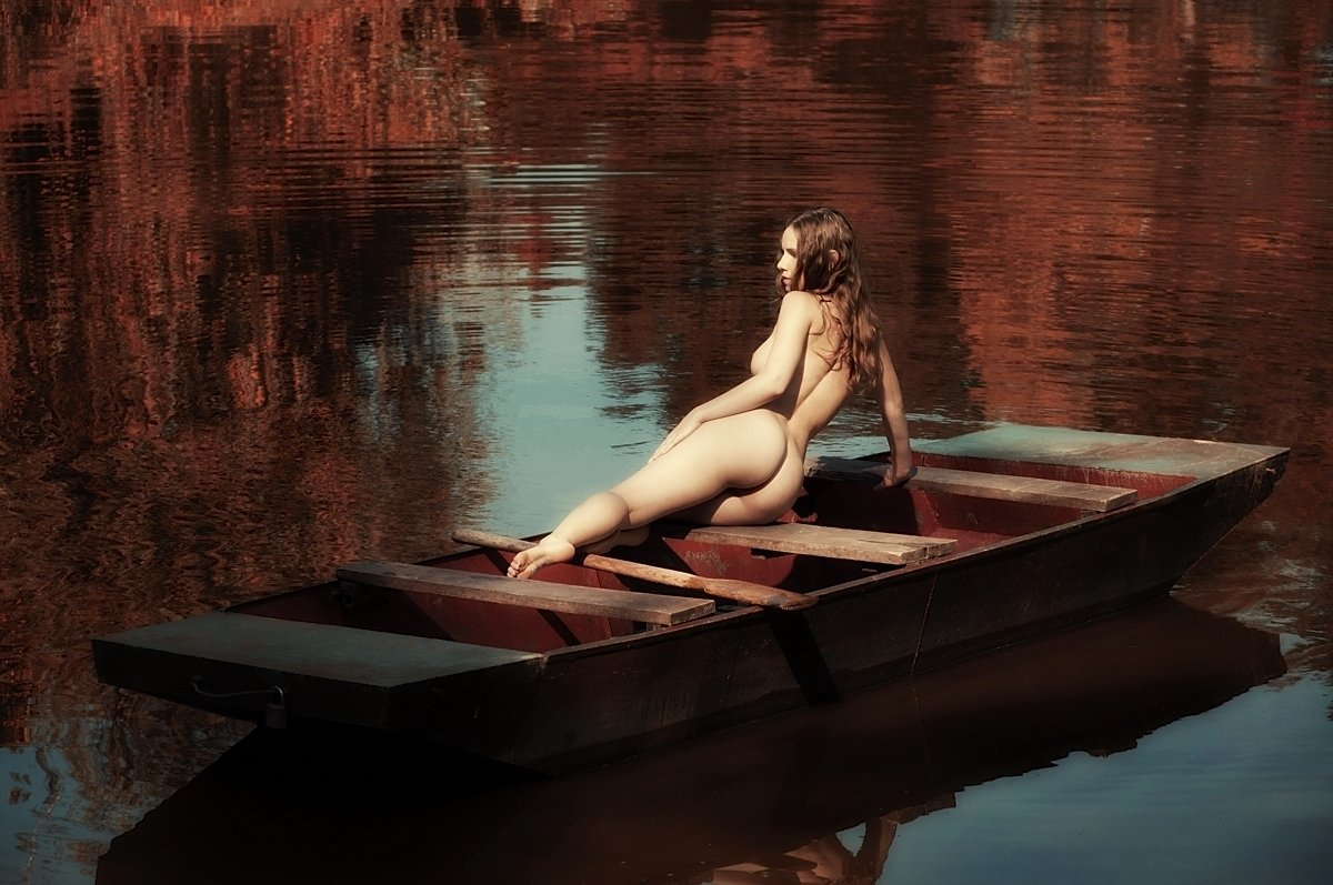Autumn, Color, Erotica, Female, Model, Naked, Nude, Sensuality, Woman, Lajos Csáki