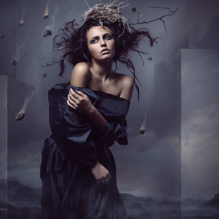 igor voloshin, voloshin, painting, surrealism, computer art, photography, art, woman, Игорь Волошин