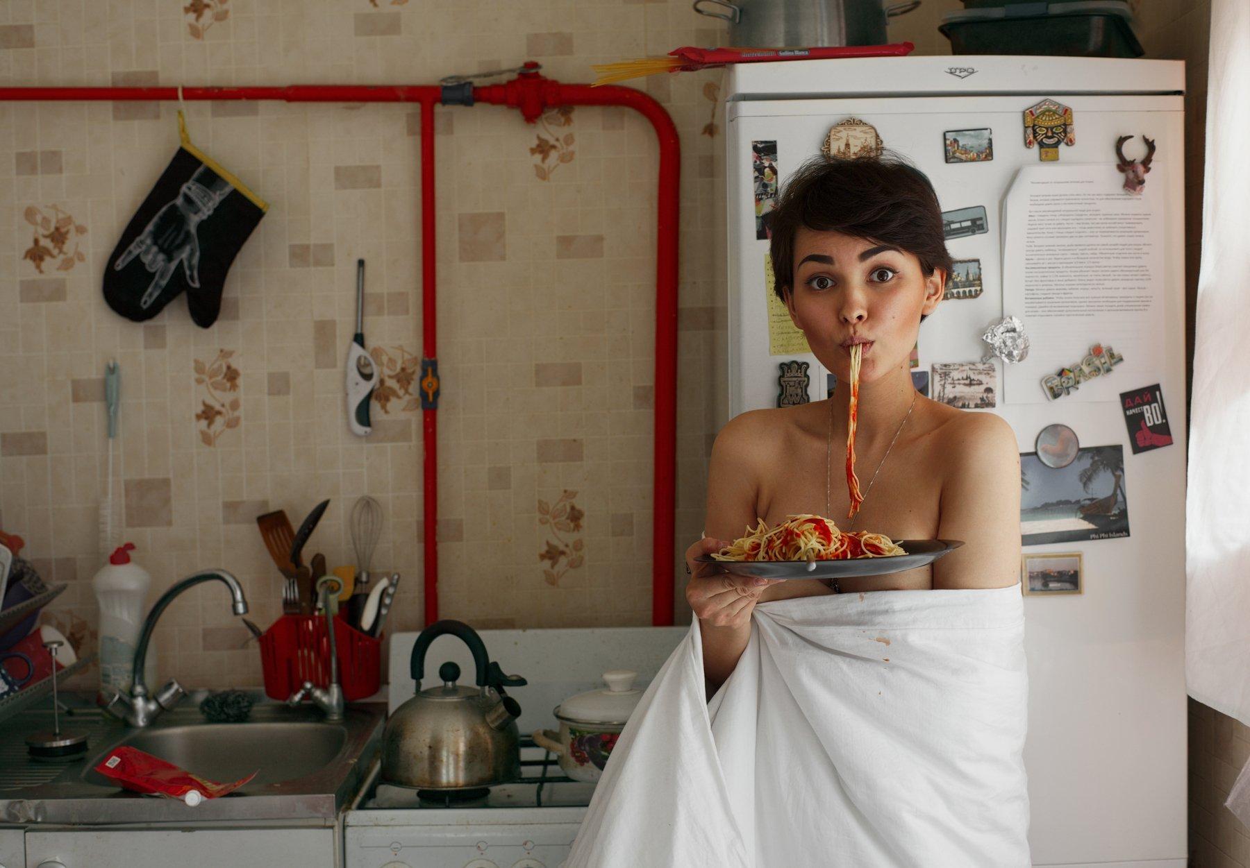 girl, ketchup, kitchen, saint-petersburg, spb, macaronis, , Роман Филиппов