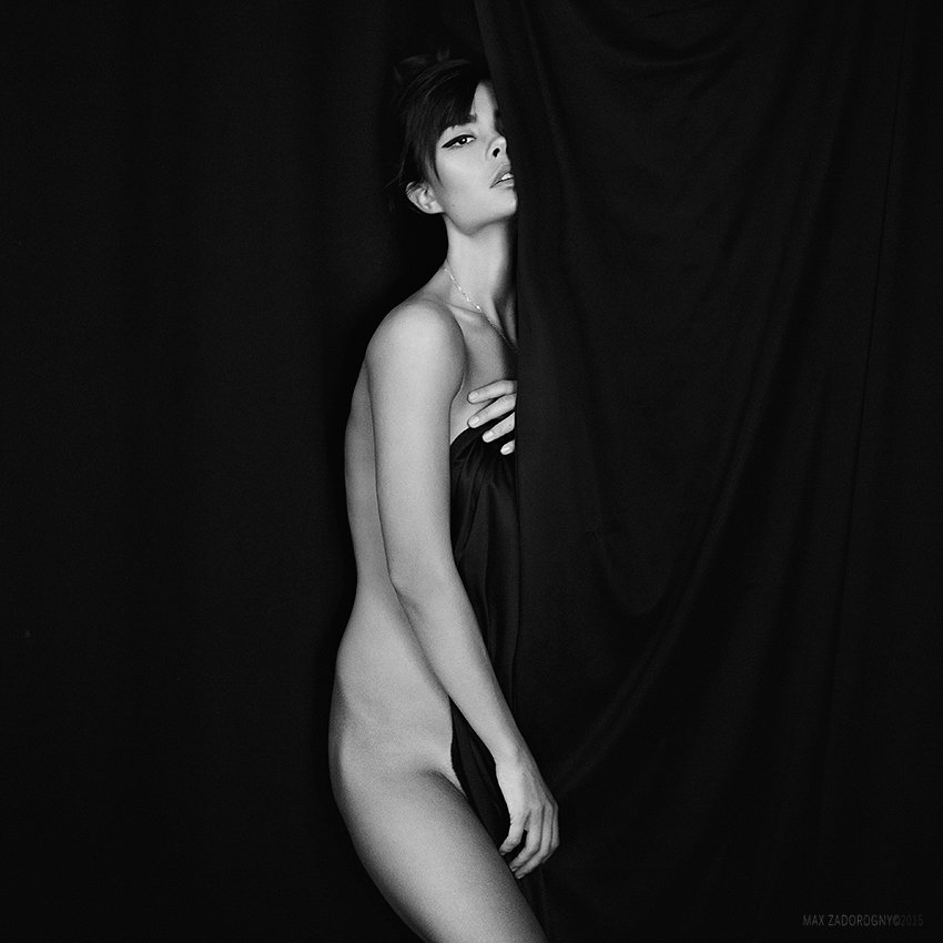 nu, nude, inspiration, black and white, Задорожний Макс