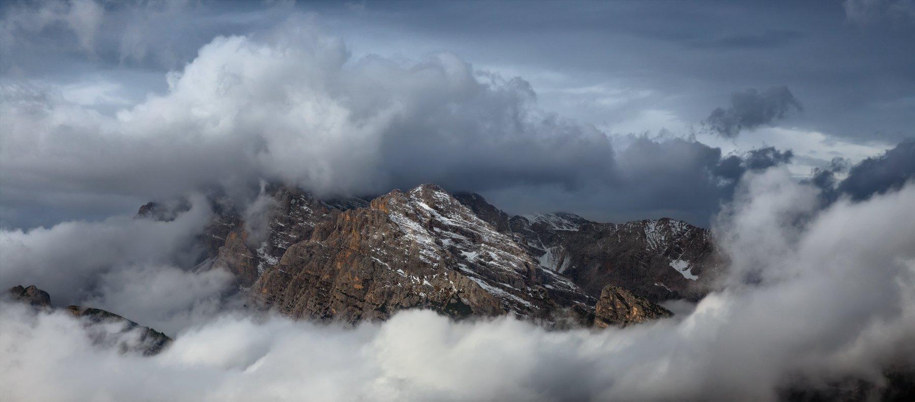 альпы, италия, доломитовые альпы, tre cime, alps, italy, Денис Сорокин