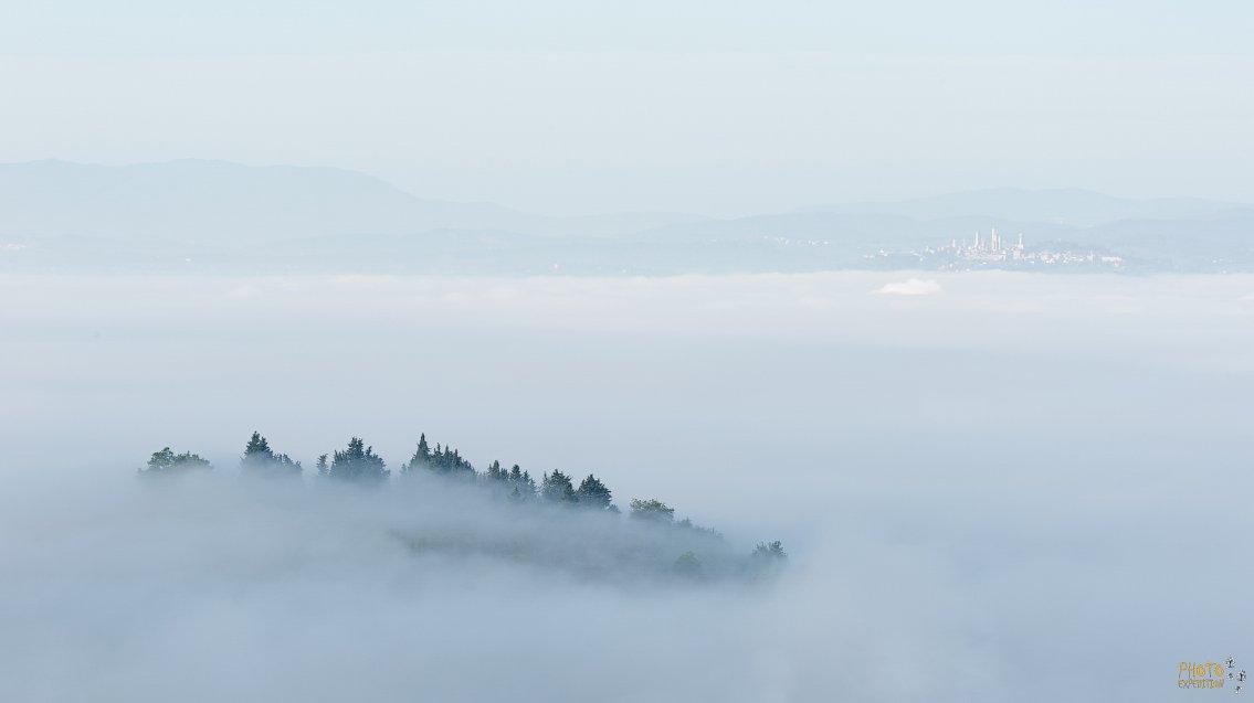 фототур, тоскана, италия, туман, рассвет, Евгений Ремизов