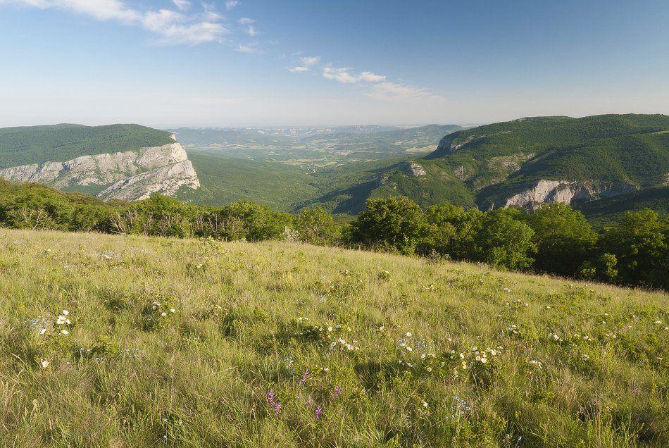 утро, бельбекская долина, большой каньон крыма, массив бойка, Саша  Вайсберг / Waldschnepfe /