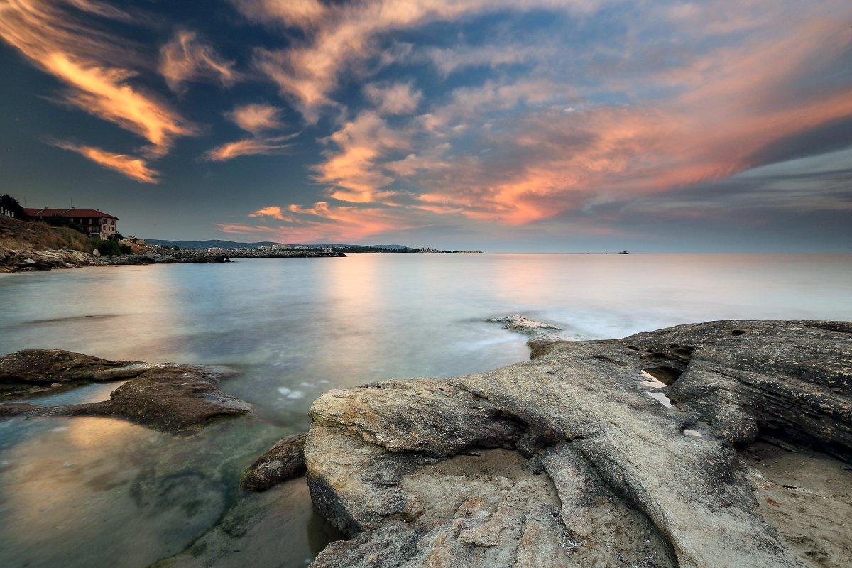 Black sea, Bulgaria, Coast, Ravda, Александър Сандев