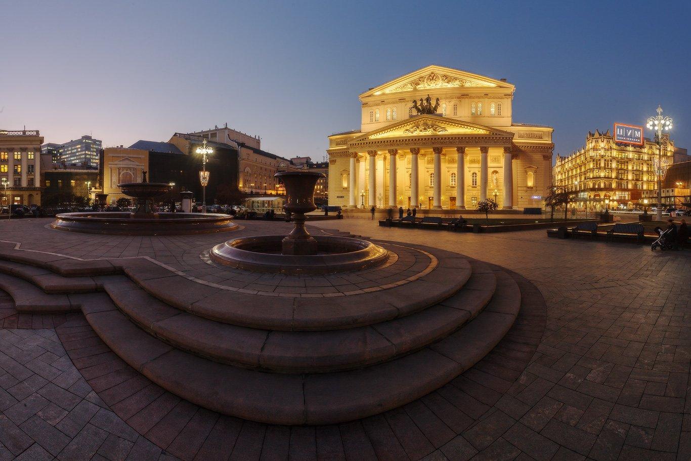 москва, столица, россия, большой, театр, Илья Штром