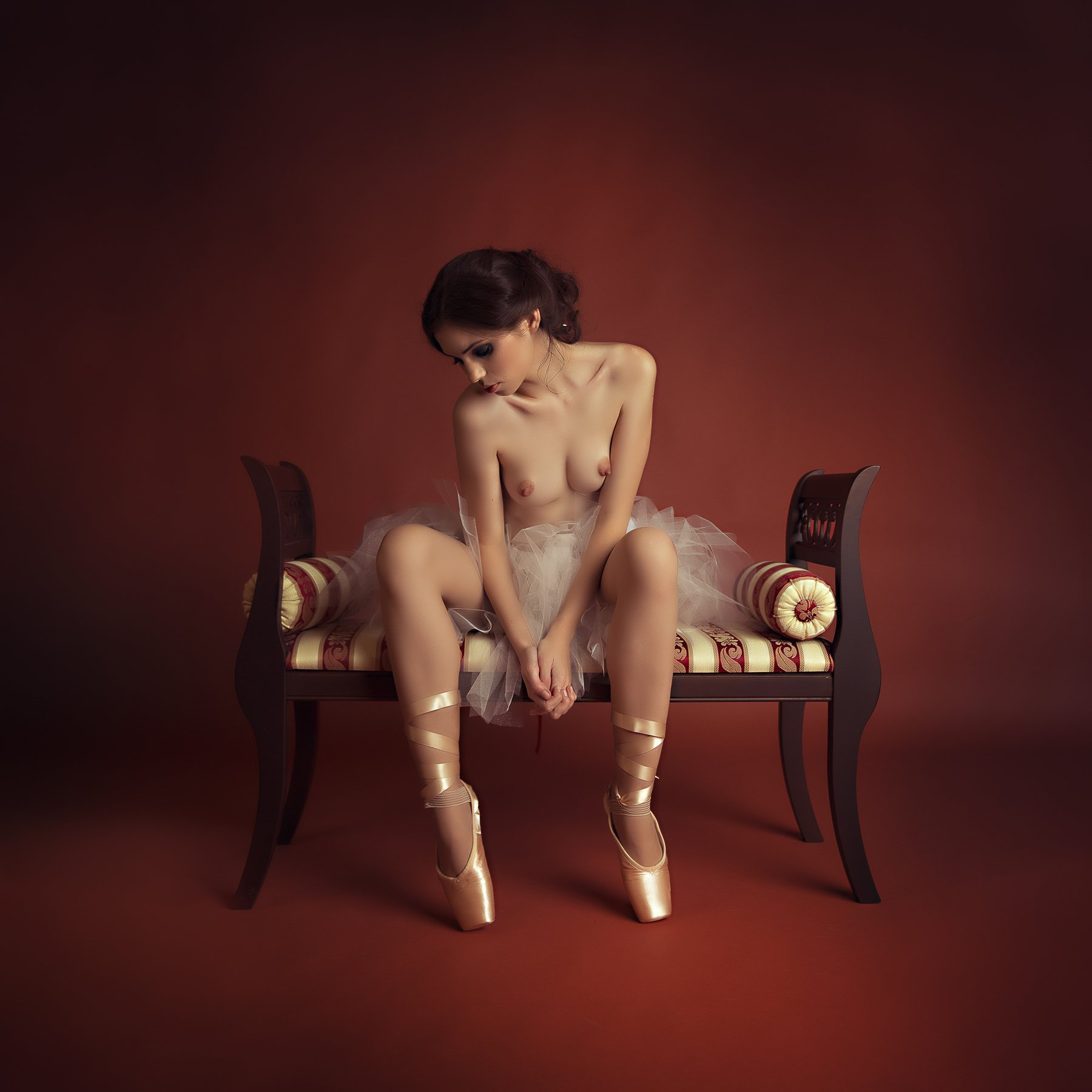 portrait nude woman, Alexandra Fira