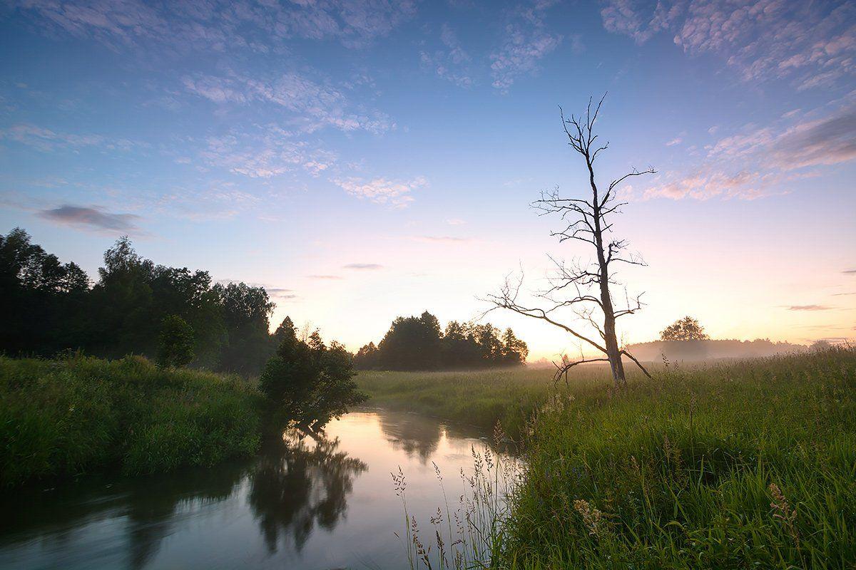 природа, река, Олег Белый