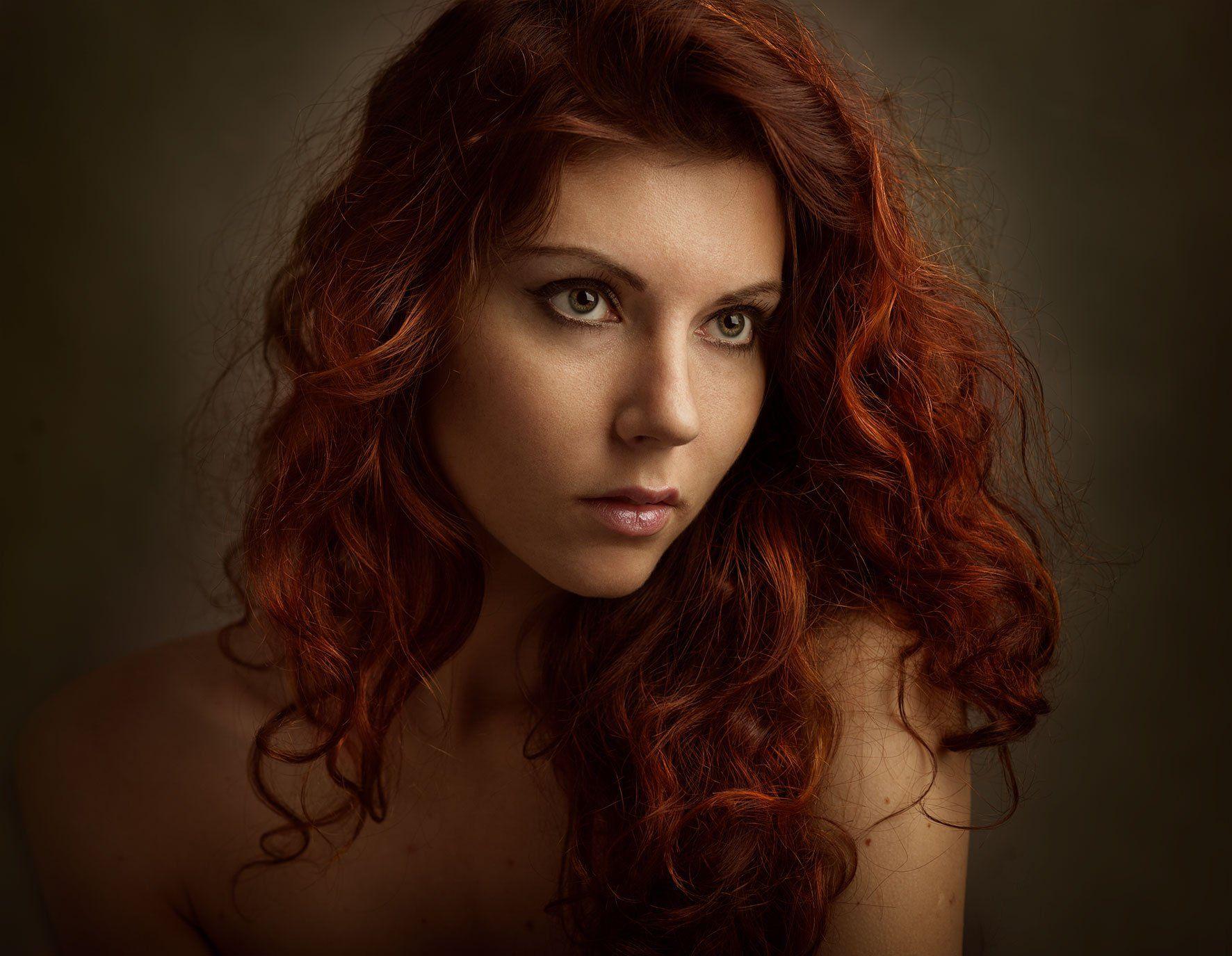 портрет,девушка,студия, 2013, Бутвиловский Дмитрий