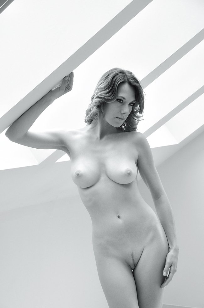 Black and white, Erotica, Female, Model, Naked, Natural light, Nude, Sensuality, Woman, Lajos Csáki