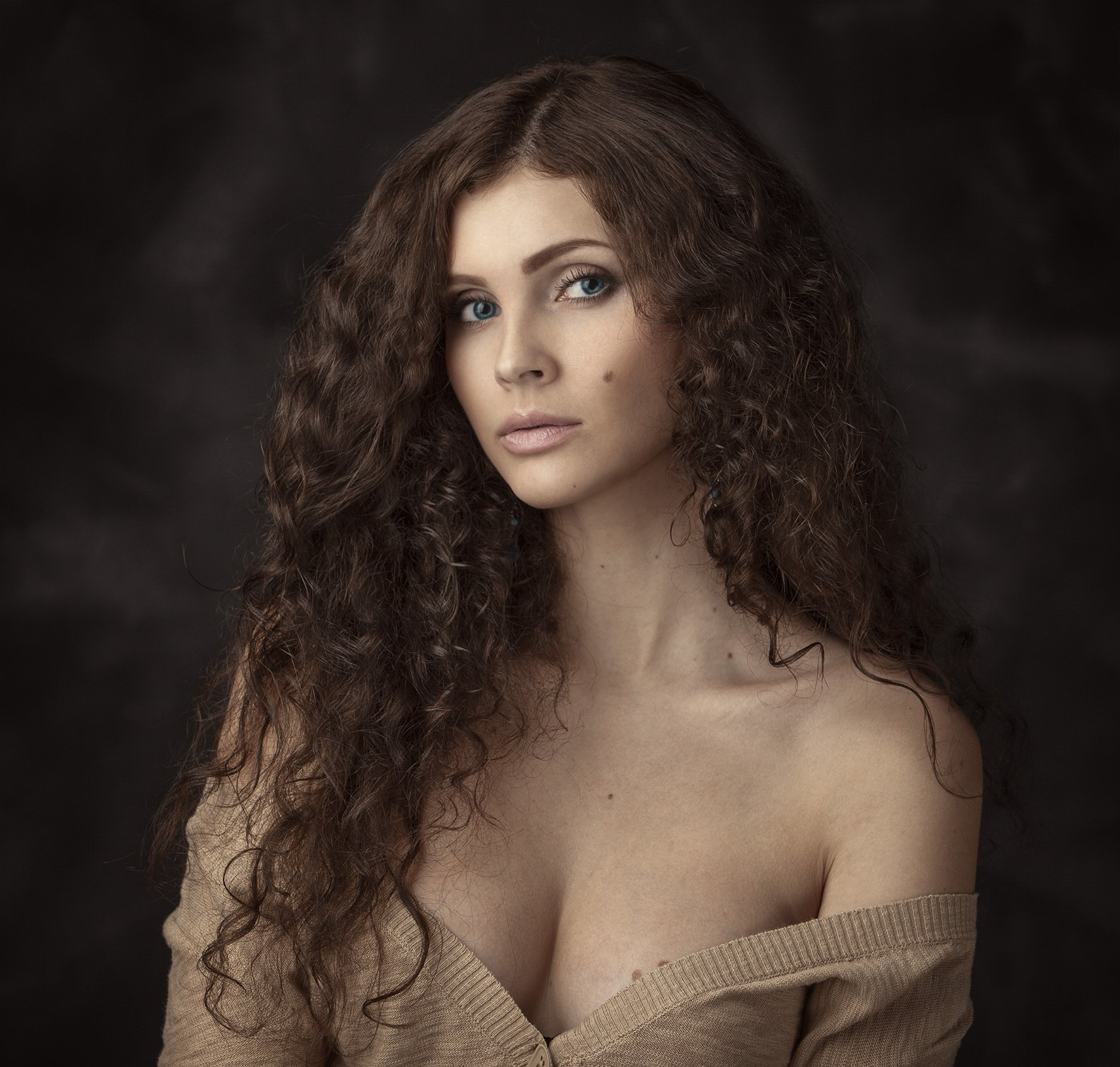 портрет,девушка,2014,студия, Бутвиловский Дмитрий