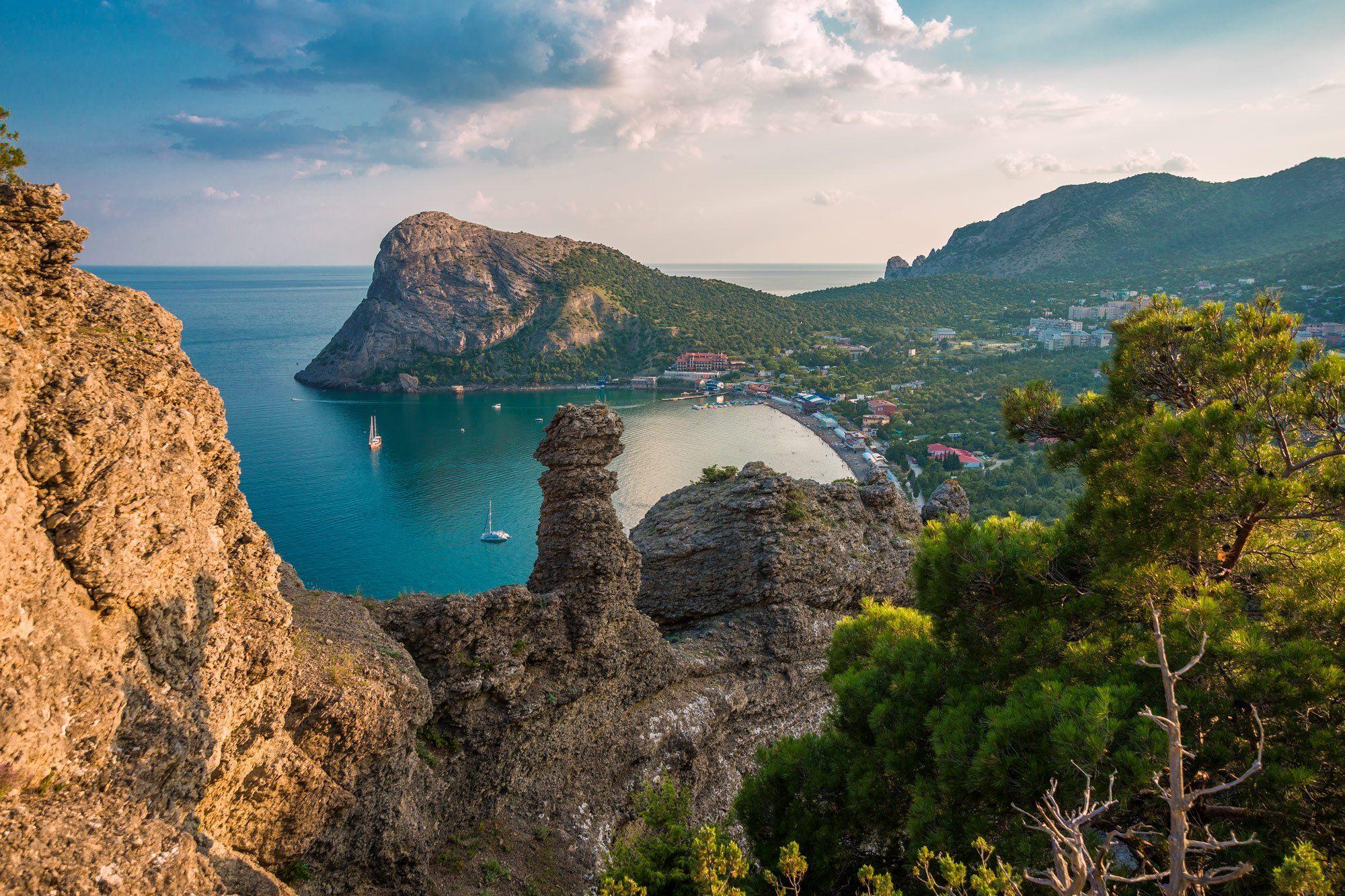 Крым,Новый Свет,Лето,скалы,море,горы,, Новосёлов Владимир