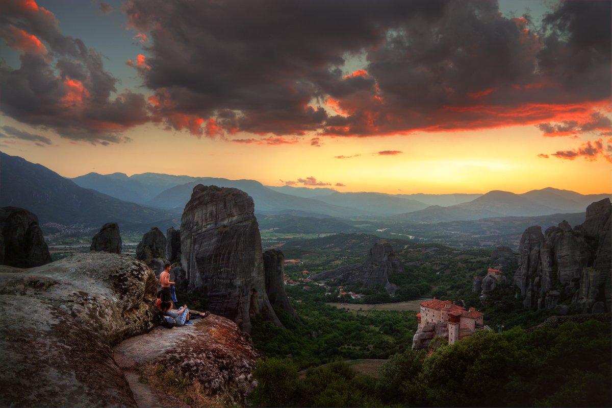 Греция, Метеора, Метеоры, Александр Атоян