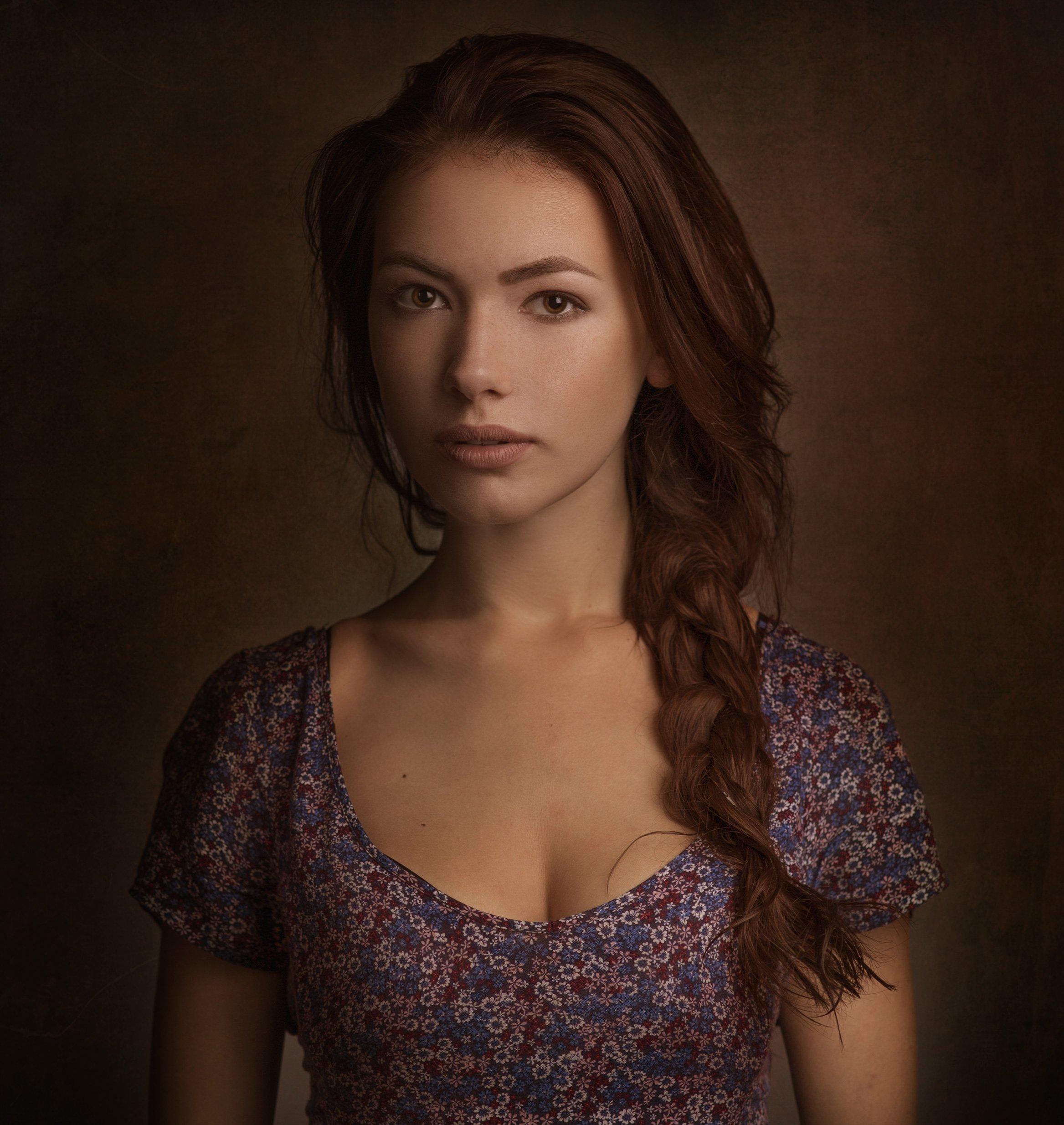 портрет,девушка,студия,2015, Бутвиловский Дмитрий