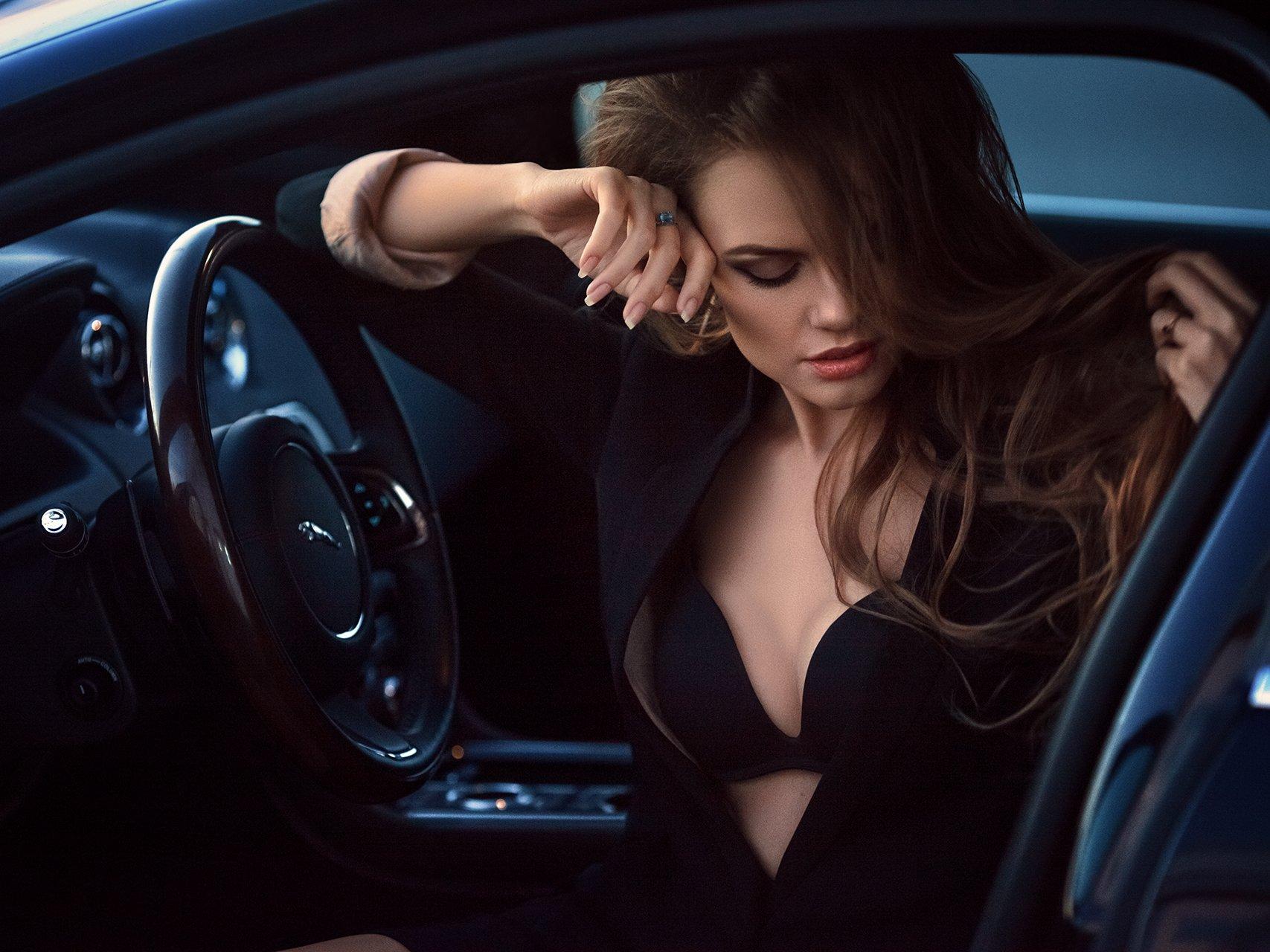 Girl, Jaguar, Рычков Дмитрий