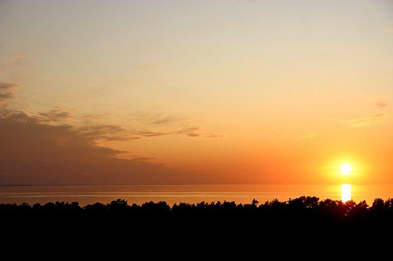закат, море, юрмала, балтика, Vlad Shanalin