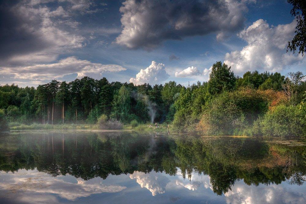 август, парк лесоводов россии, Алексей Баяндин