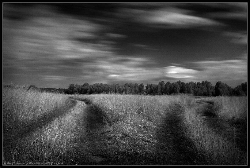дорога,дороги,путь,пути,ик,cokin,infrared,ir,фотограф,владимир,шипулин,томск, Vladim_Shipulin