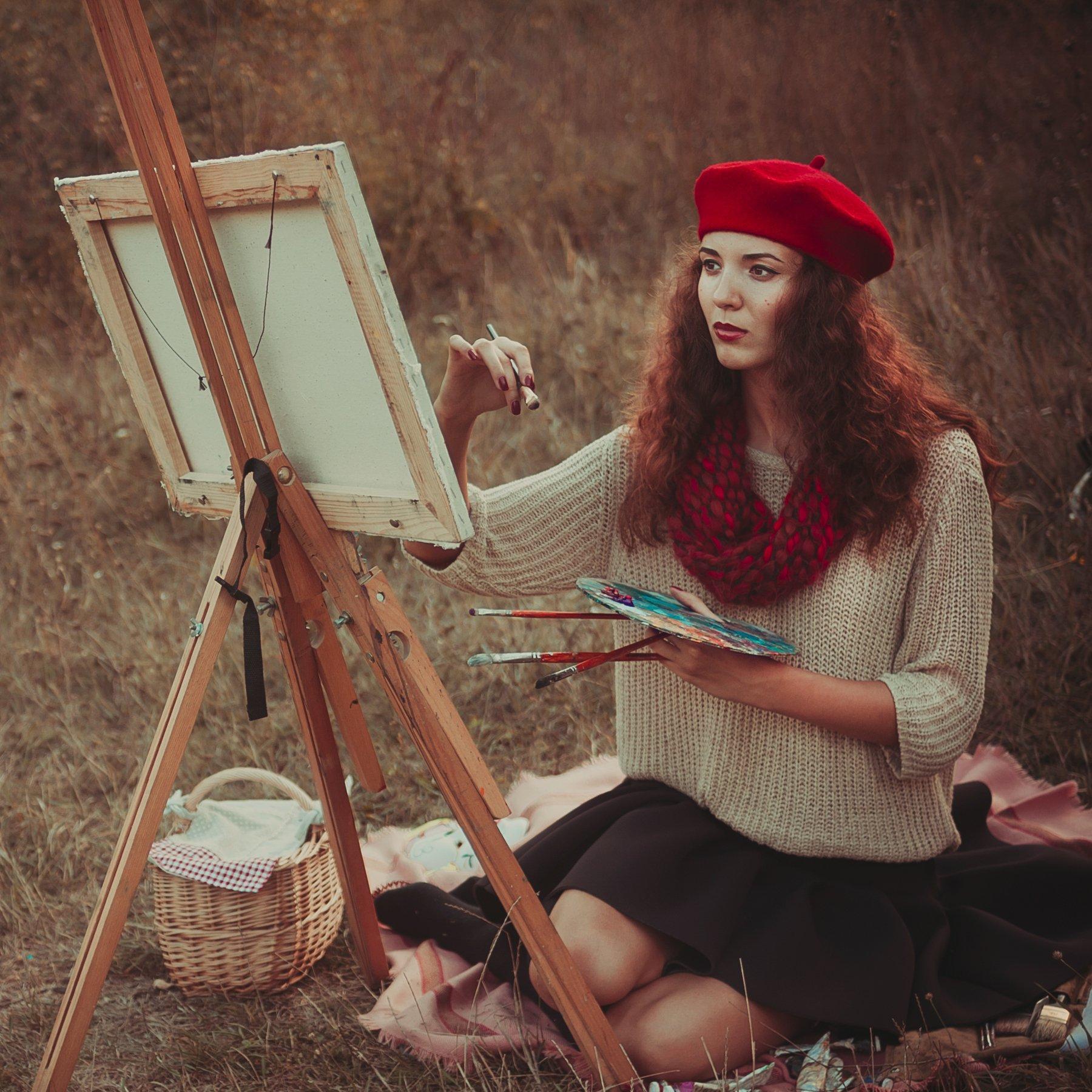 женский образ в работах фотохудожников утверждает