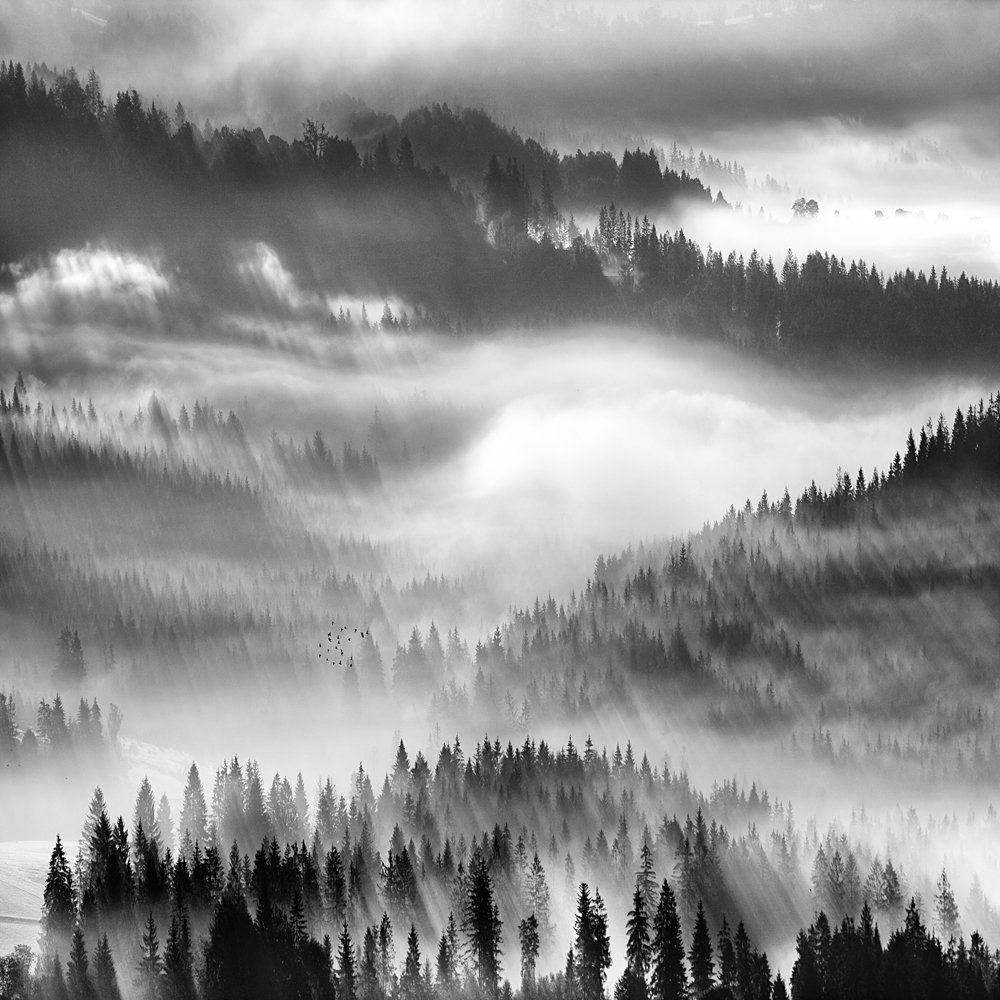 Fog,mountains, Boguslaw Strempel