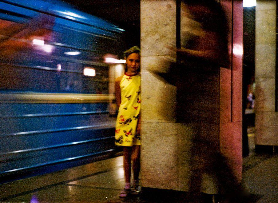 метро, призраки,    kodak porta, Rada*