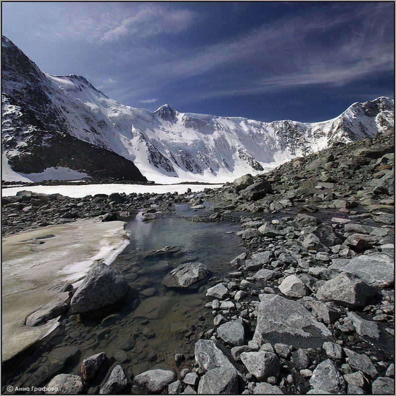 алтай, горы, горный алтай, белуха, томские стоянки, ледник, аня графова, Аня Графова