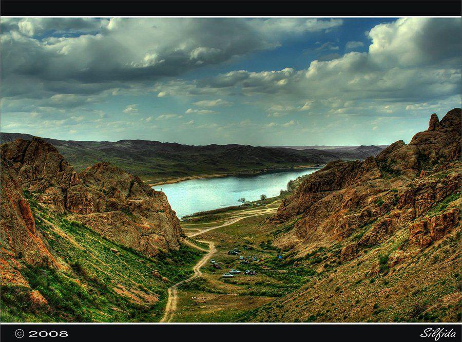 река, скалы, Silfida