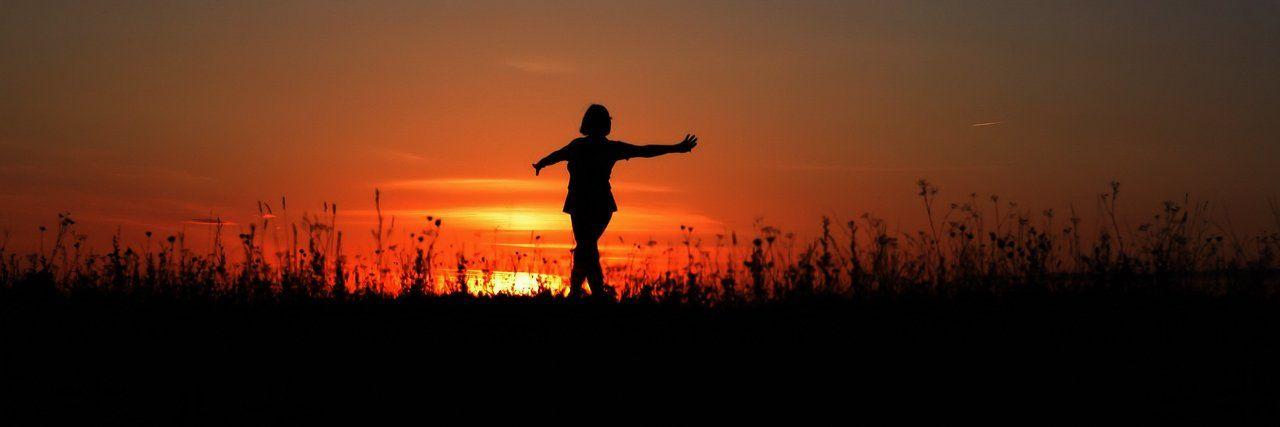 закат, солнце, танец, Клековкин Александр