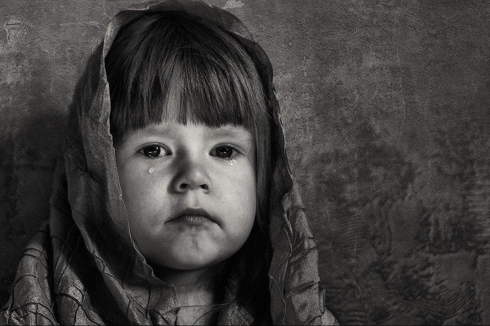 ребенок, слезы, портет, жанр, Gerelen
