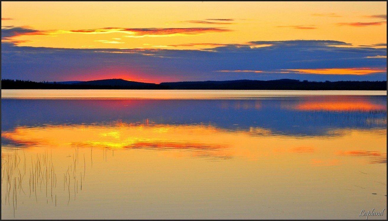 швеция,заполярье,скандинавия,лапландия,пейзаж,природа,вода, Елена