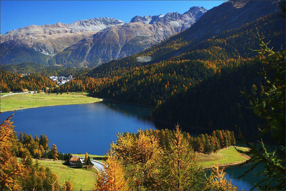 альпы, озеро, швейцария, Julia Britvich